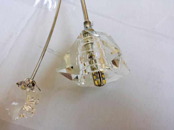 Плафон со светодиодной лампой с цоколем G4