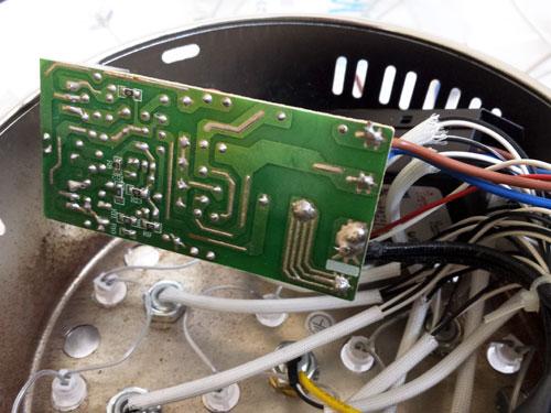 Разобранный трансформатор для галогеновых ламп